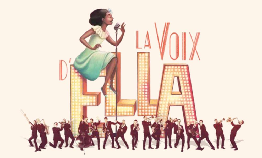LA VOIX D'ELLA (version digitale) — The Amazing Keystone Big Band